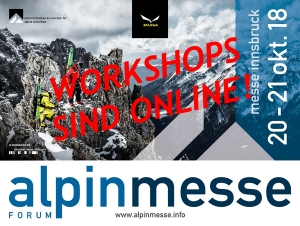 Alpinmesse 2018 - Workshops