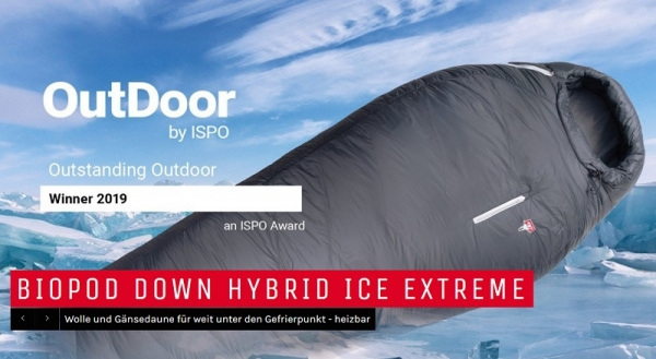 Grüezi bag gewinnt OutDoor by ISPO Award