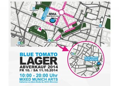 Blue Tomato Lagerverkauf im MMA