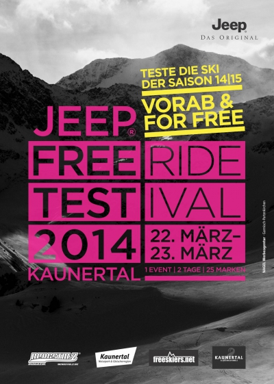 JEEP FreerideTestival Kaunertal 2014