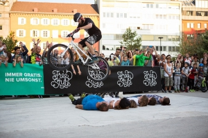 Freestyle am Landhausplatz - Innsbruck