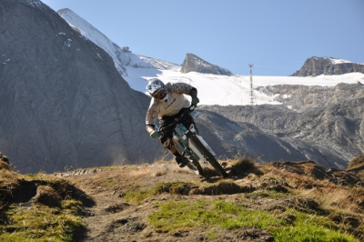 Drei Freeride-Trails am Kitzsteinhorn