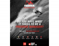 The North Face® präsentiert Freeride Manager App