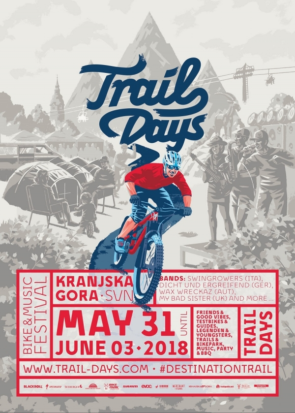 Trail Days vom 31. Mai bis 03. Juni 2018 in Kranjska Gora