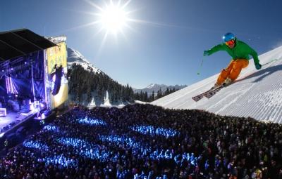 Ski-Opening auf der Planai