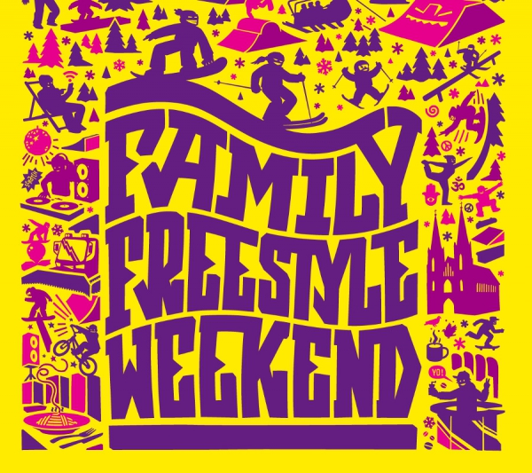 Family Freestyle Weekend im Betterpark Alpendorf