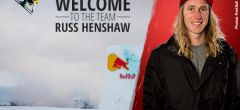 Russ Henshaw neu bei Blue Tomato