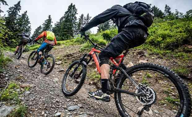 SAALBACH Abseits der Gravitylines mit dem E-Bike