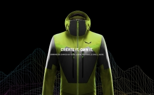 "Salewa ""Design your own Jacket"""